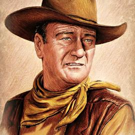 Andrew Read - John Wayne colour version