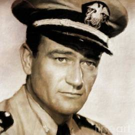 John Wayne, Hollywood Legend by Mary Bassett - Mary Bassett