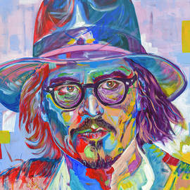 Gilles Chagnon - Johnny Depp in Chapau