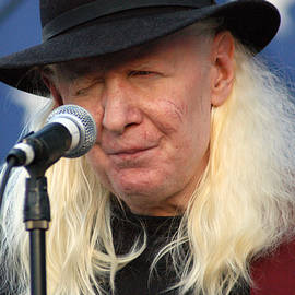 Johnny Winter by Mike Martin