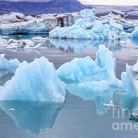 Jokulsarlon Glacier Lagoon - Edward Fielding