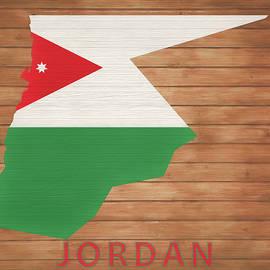 Dan Sproul - Jordan Rustic Map On Wood