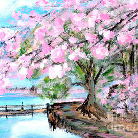 Joy of Spring. for sale Art prints and cards by Oksana Semenchenko