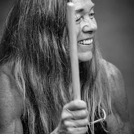 Joyful We Drum by John Haldane