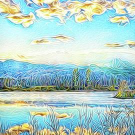 Joel Bruce Wallach - Joyous Blue Reflections