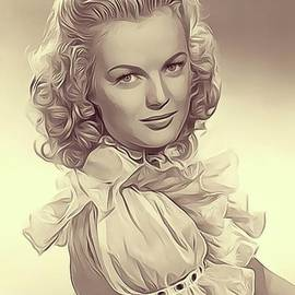 June Haver, Vintage Actress - John Springfield