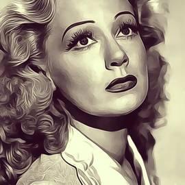 June Havoc, Vintage Actress - John Springfield