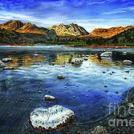 Timothy Hacker - June Lake Sunrise Painting