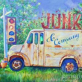 Junk Truck by AnnaJo Vahle
