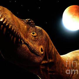 Jurassic Blood Moon by Bob Christopher