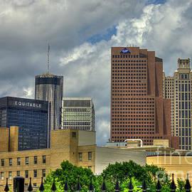 Reid Callaway - Just A Part Atlanta Georgia Skyscrapers Cityscape Art