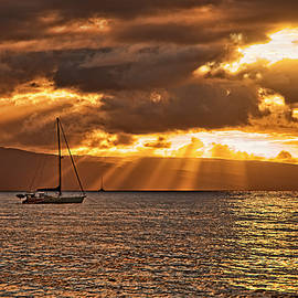 Kaanapali Sunset by Marcia Colelli