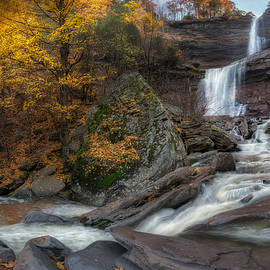 Kaaterskill Falls Autumn by Bill Wakeley