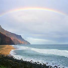 Kevin Smith - Kalalau Beach Rainbow