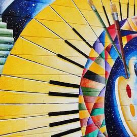 Natalie Ortiz - Kaleidoscope Pallet And Piano Keys
