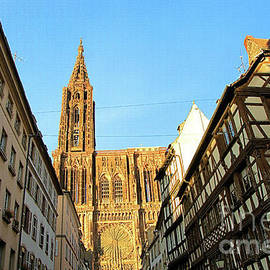Elzbieta Fazel - Kammerzell House and Cathedral in Strasbourg, France
