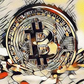 Gert J Rheeders - Kandinskycalia Catus 1 No. 5 - Bitcoin