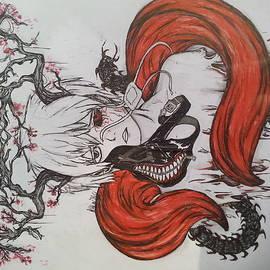 Kaneki ken by Allyse wing