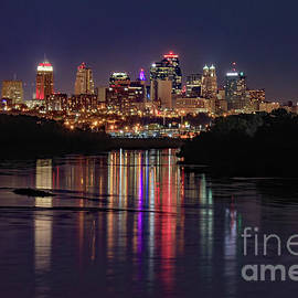 Kansas City Lights by Kevin Anderson