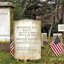 Janice Drew - Katharine Lee Bates Gravesite