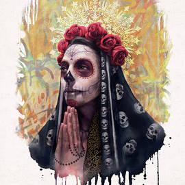 Katrina - The Skull girl by Carlos Tato
