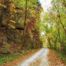 Katy Trail Autumn Colors by Kevin Anderson
