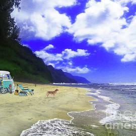 Joseph J Stevens - Kauai VW Surfer