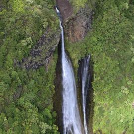 Steven Lapkin - Kauai Waterfall Aerial