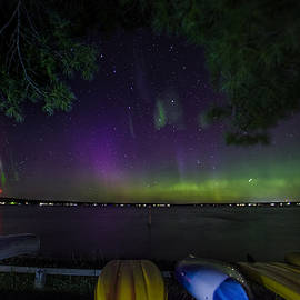 Ron Wiltse - Kayak Northern Lights