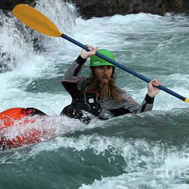 Kayaking Magic Of Water 3 by Bob Christopher