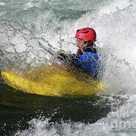 Kayaking Magic Of Water 4 by Bob Christopher