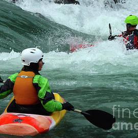 Kayaking Magic Of Water 7 by Bob Christopher