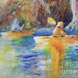 Kayaking the Guadalupe by Marsha Reeves