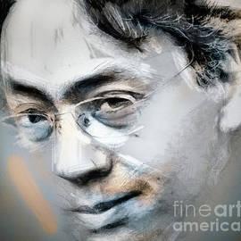 Daliana Pacuraru - Kazuo Ishiguro - Portrait Drawing