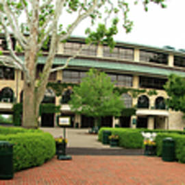 Keeneland Race Track Panorama by Jill Lang