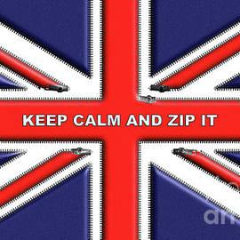 Beverley Brown - Keep Calm and Zip It