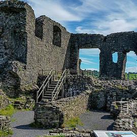 Maria Costello - Kendal Castle, England
