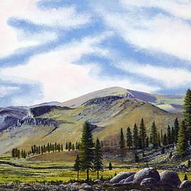 Kennedy Meadows Mural Sketch by Frank Wilson