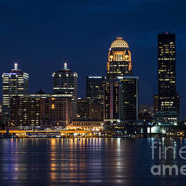 Andrea Silies - Louisville at Night