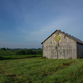 Bridget Calip - Kentucky Bluegrass Country Barn Quilt