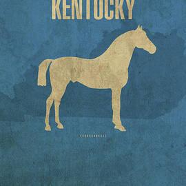 Kentucky State Facts Minimalist Movie Poster Art - Design Turnpike