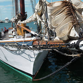 Key West Appledore Sailboat by Dennis Dame