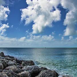 Key West Clouds On The Rocks by Bob Slitzan