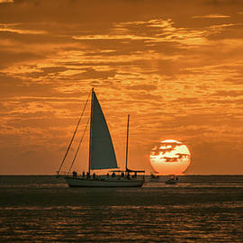 Chris M Sheridan - Key West Sunset