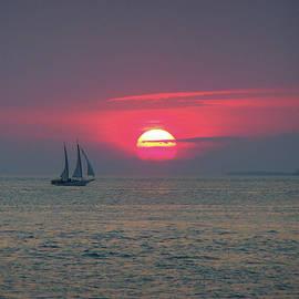 Key West Sunset  by Jeff Roney
