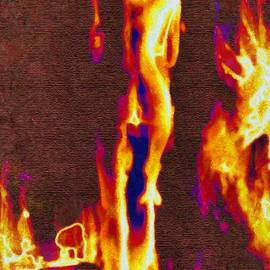 Khaleesi on Fire by Mario Carini