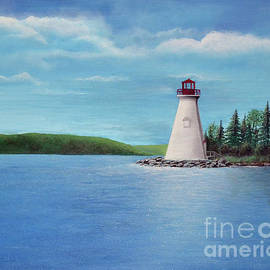 Julia Baldwin - Kidston Island Lighthouse Baddeck, Cape Breton, NS