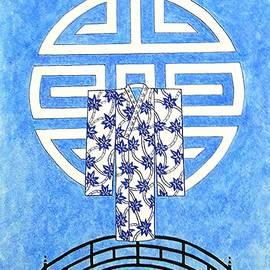 Jayne Somogy - Kimono Bridge -- Stylized Asian Design