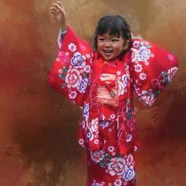 Eva Lechner - Kimono Girl