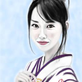 Yoshiyuki Uchida - Kimono girl No.10